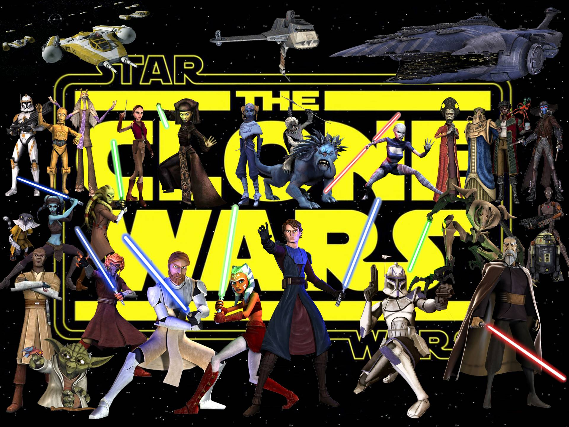 Star Wars The Clone Wars Wallpapers