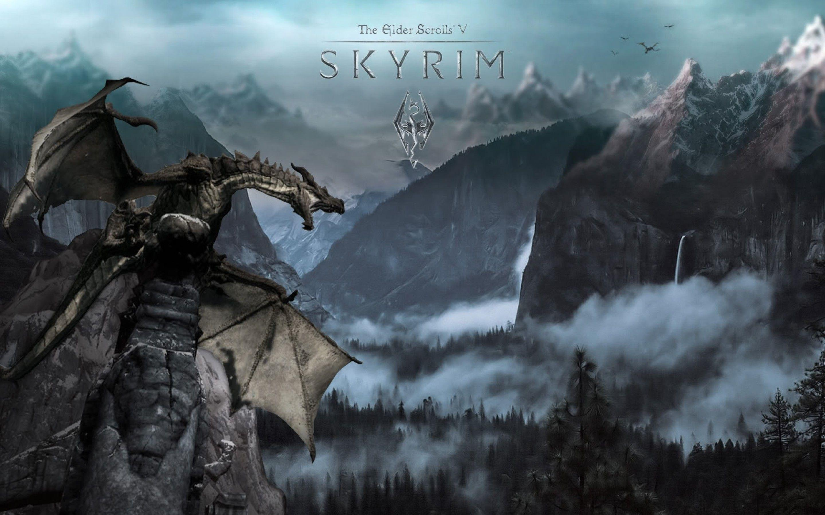 skyrim paint art wallpapers - photo #22