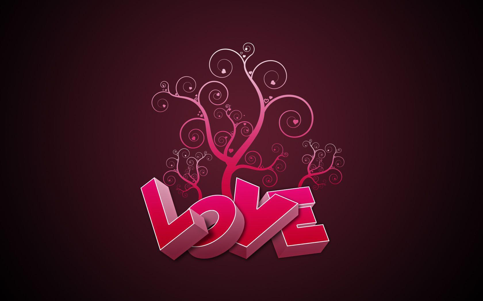 Wallpapers Love Words - Wallpaper cave