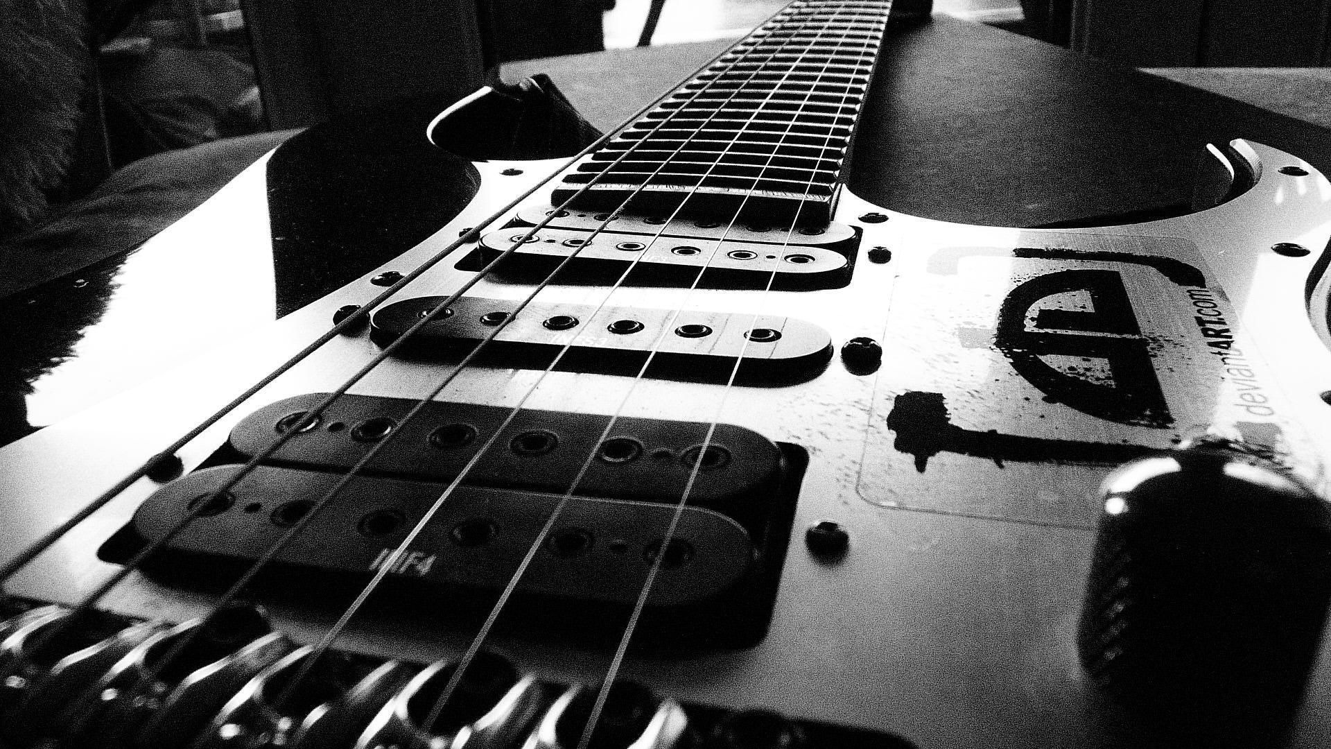 cool music wallpapers backgrounds guitar electric hd background desktop ibanez nice