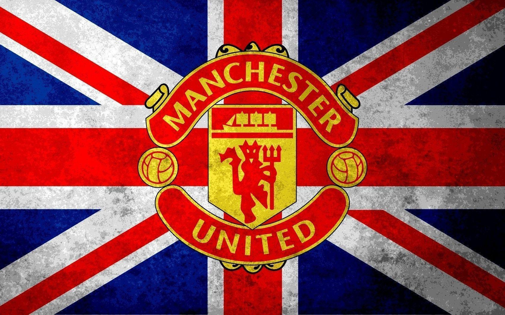 Manchester United FC Logo HD Wallpapers