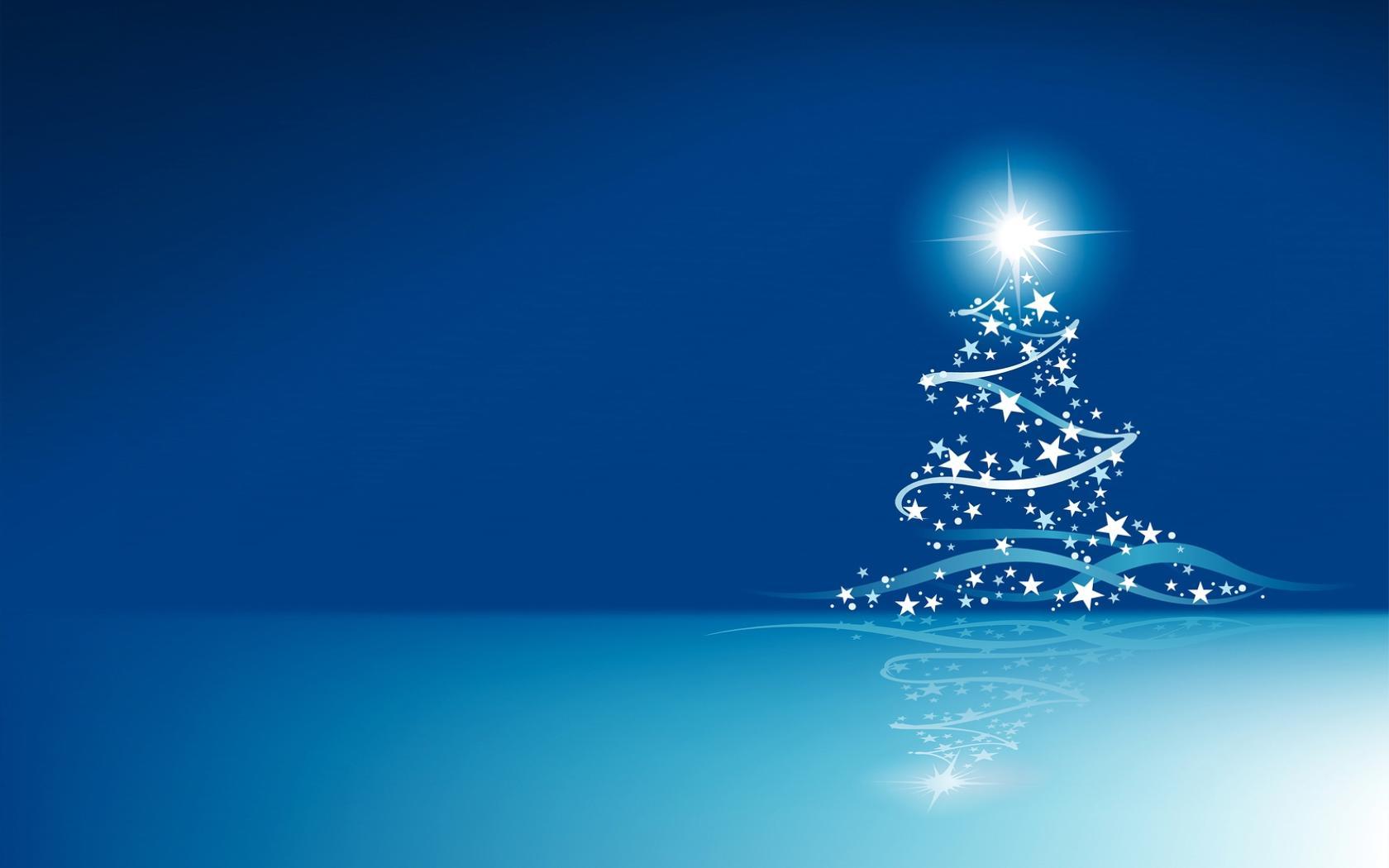 download blue christmas background 3537 hdwpincom - Blue Christmas Background