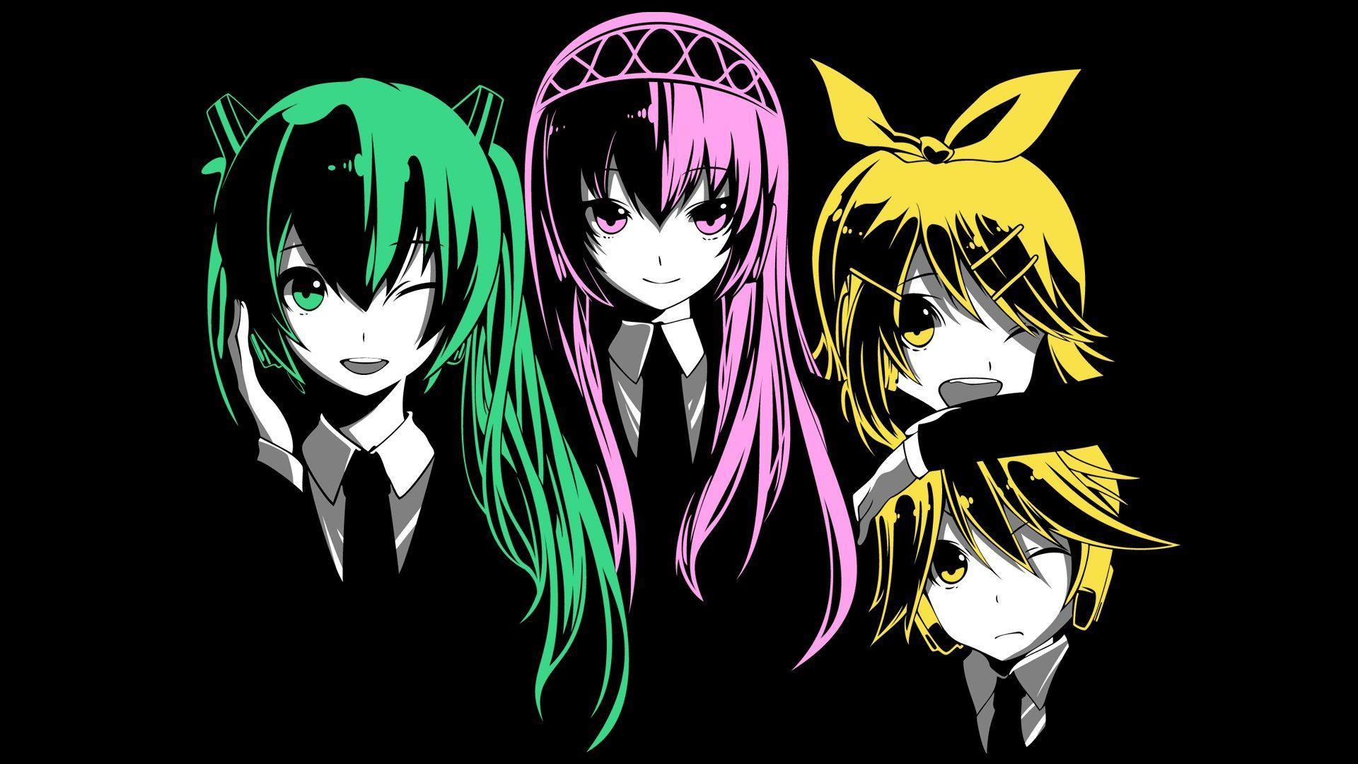 Vocaloid Chibi Group Wallpaper Vocaloid Wallpapers - ...