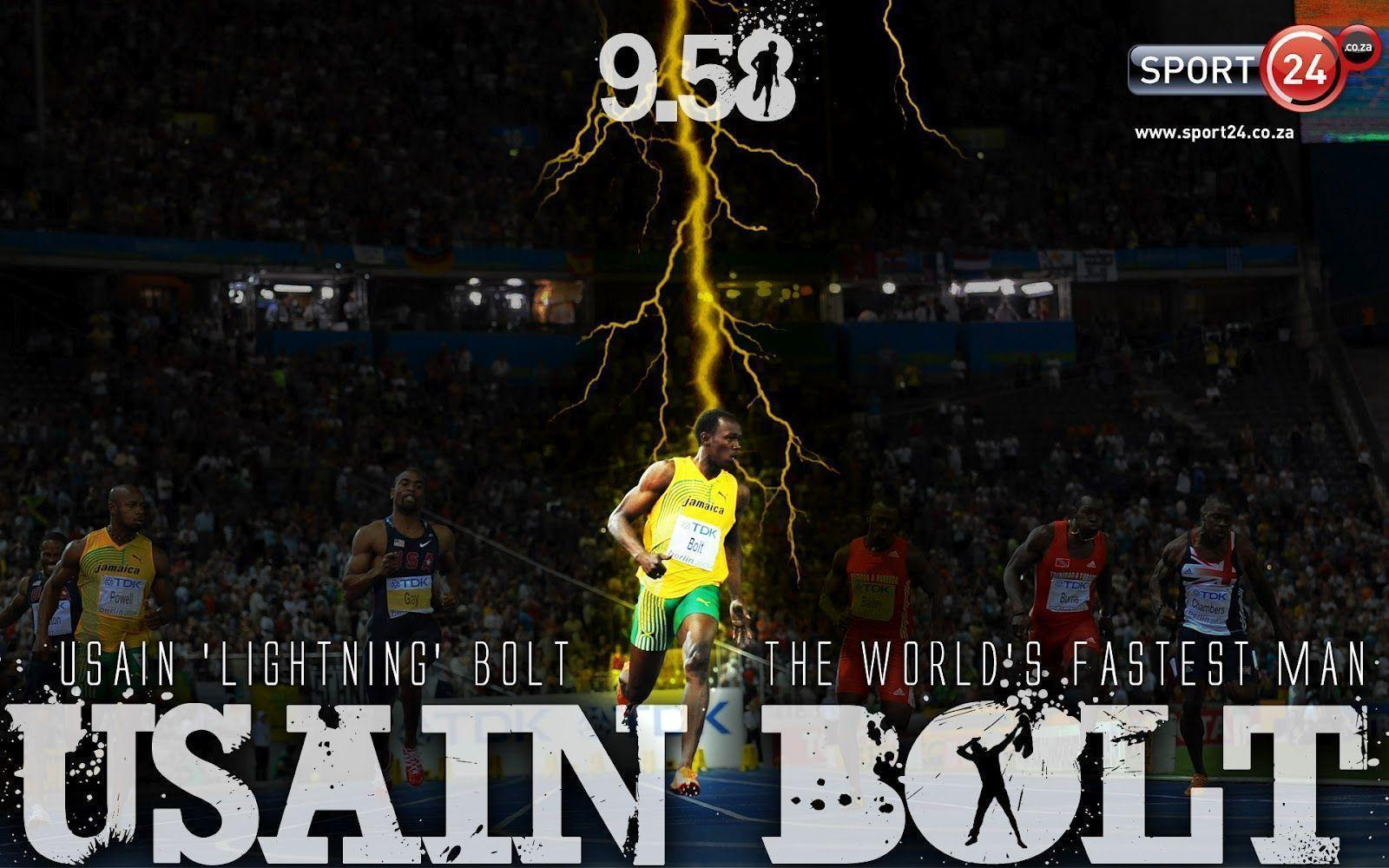 Usain Bolt Wallpapers | <center>Highlight Wallpapers</