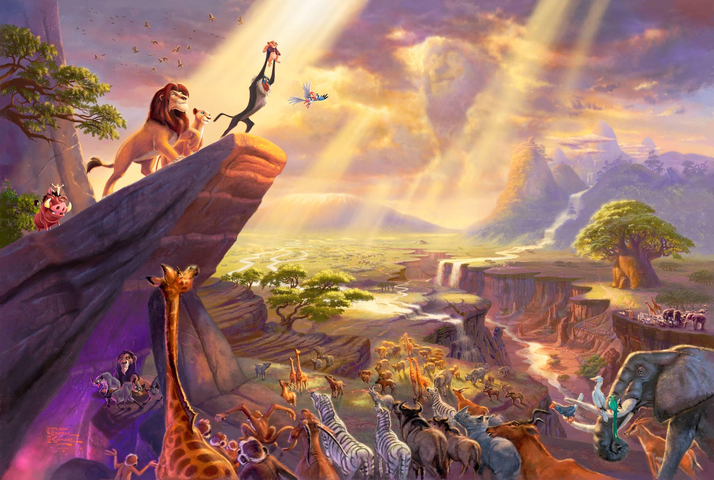 Thomas Kinkade Disney Wallpapers Wallpaper Cave