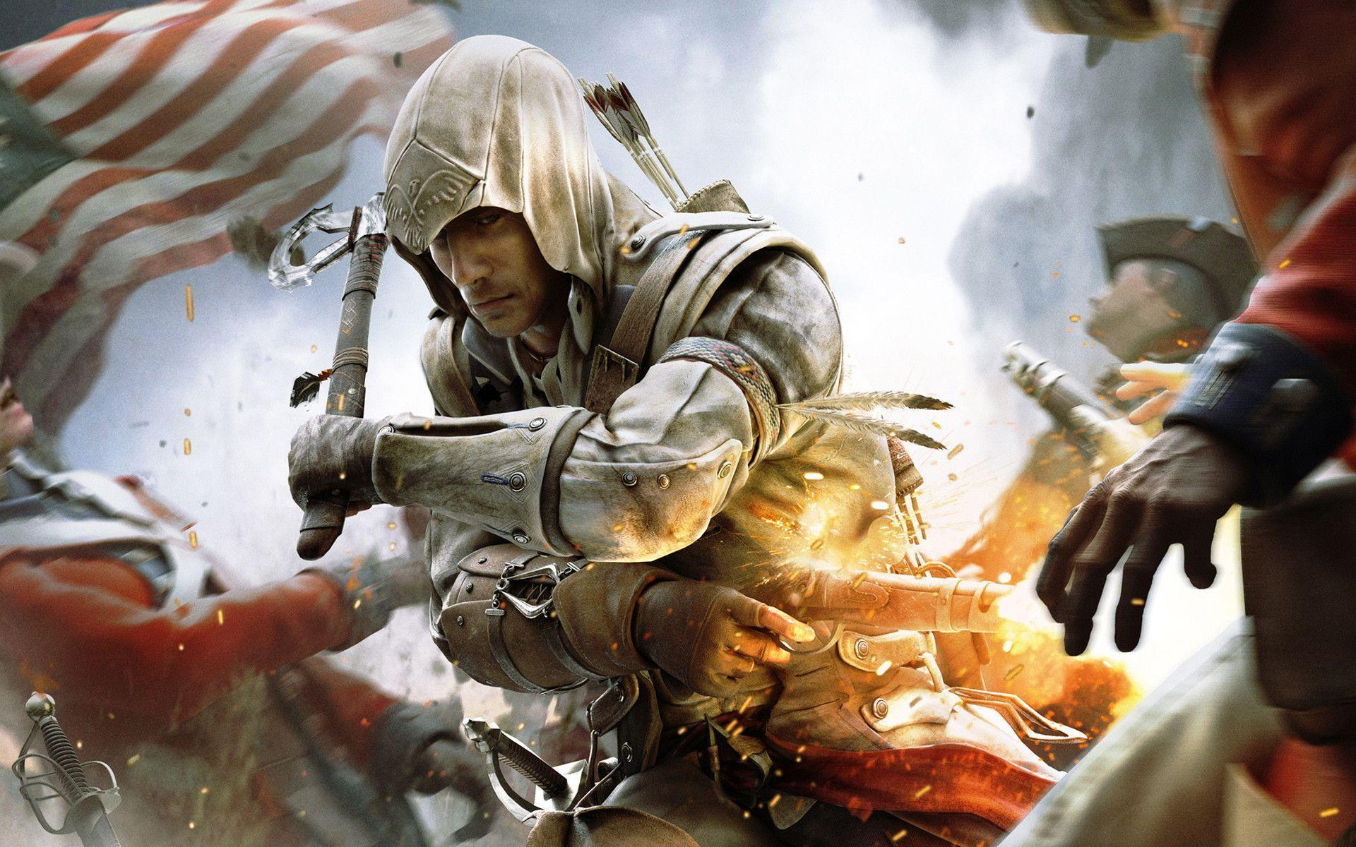 Assassins creed 3 wallpapers wallpaper cave assassins creed 3 wallpapers full hd wallpaper search voltagebd Choice Image