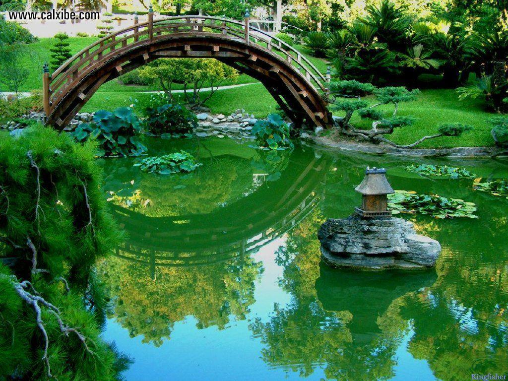 Japanese Garden Bridges | Modern World Decorating Ideas