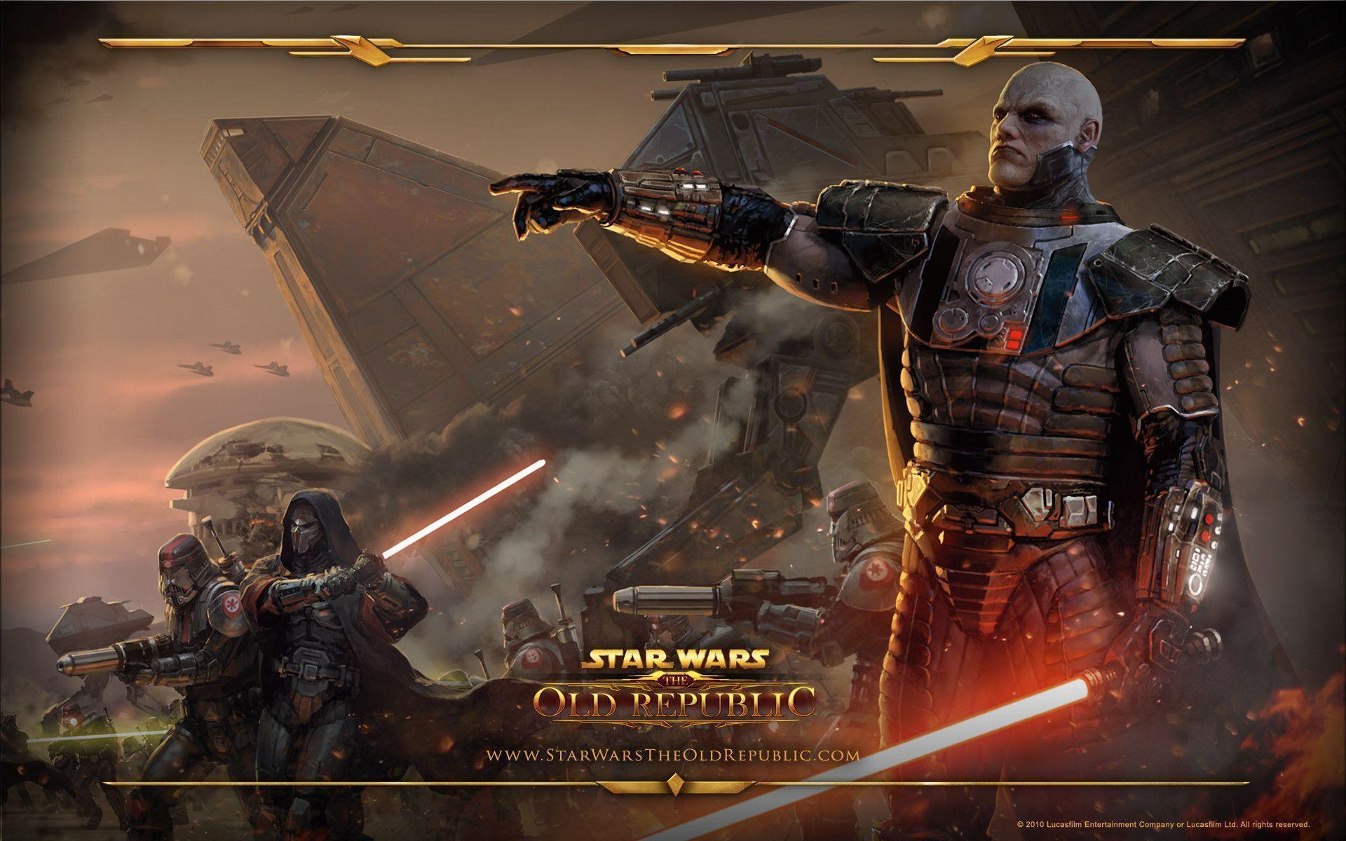 14 Star Wars The Old Republic Wallpapers
