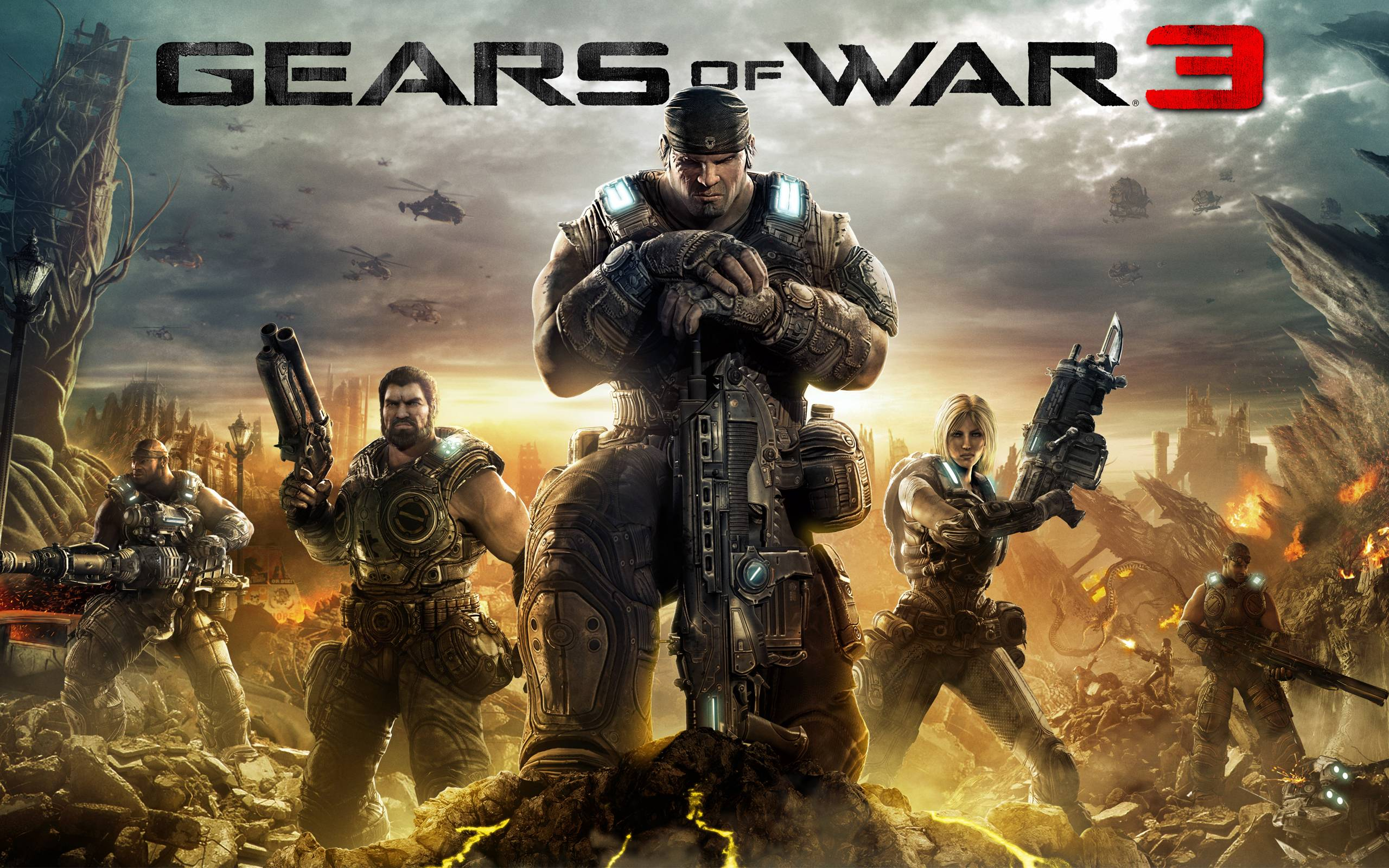 Gears Of War Hd Wallpapers Wallpaper Cave