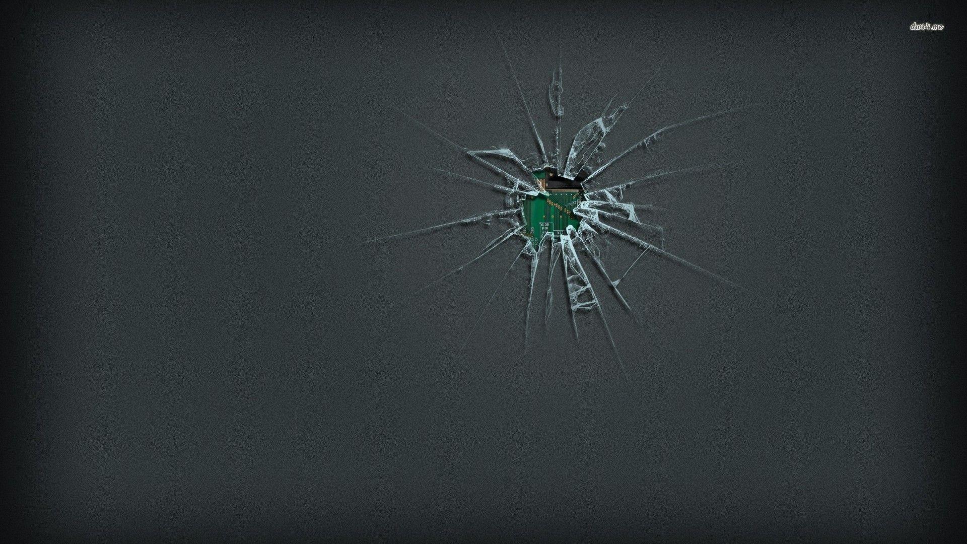 broken screen hd wallpaper for android
