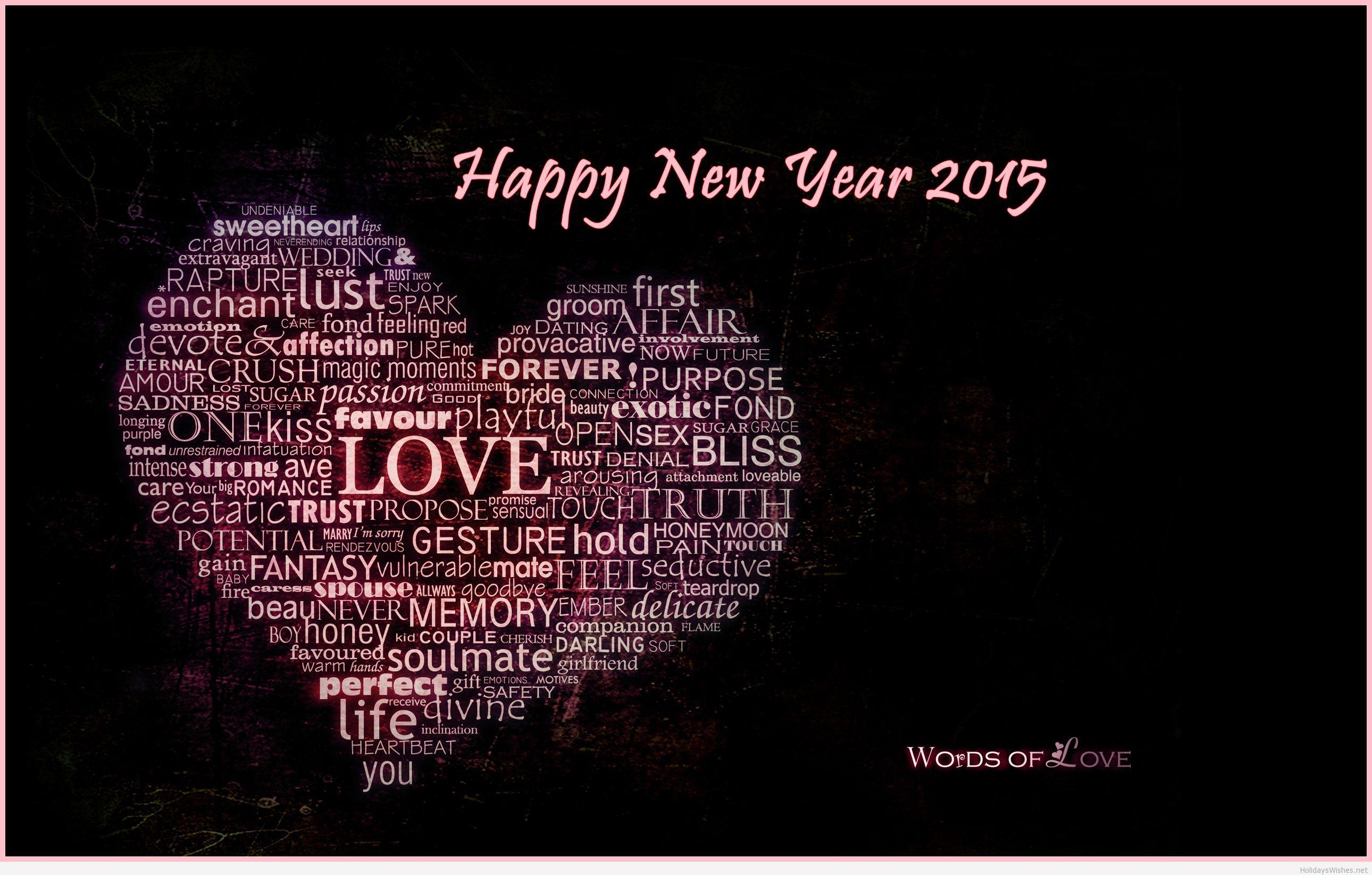 Love Happy New Year 2015 Wallpapers Wallpapers computer