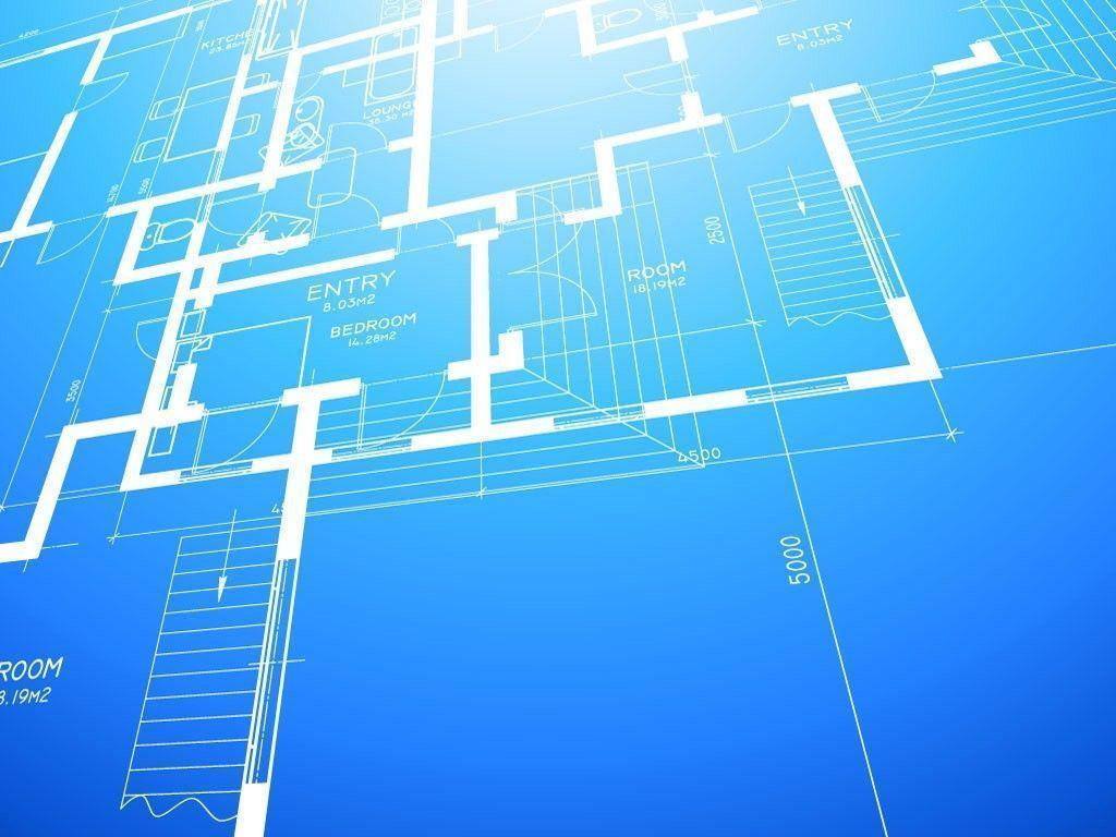 Architecture Blueprints Wallpaper