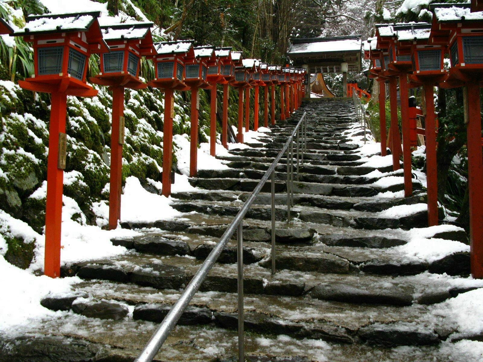 Japan Wallpapers and Image: Winter Japan Scenery Wallpapers