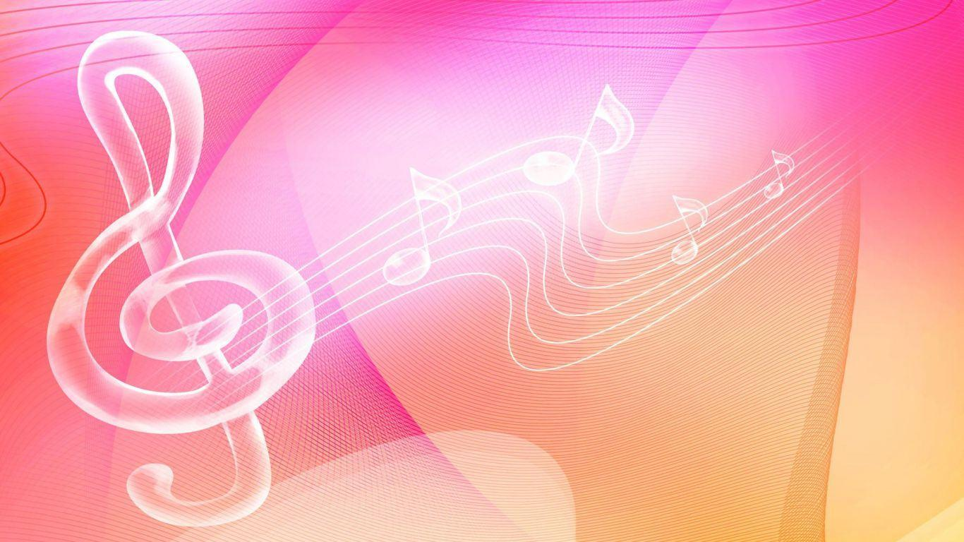 Pink Music Wallpaper: Free Music Background Images