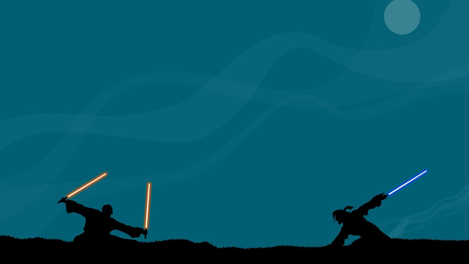 Star wars vector wallpapers paper wallpapers 1920x1080 px