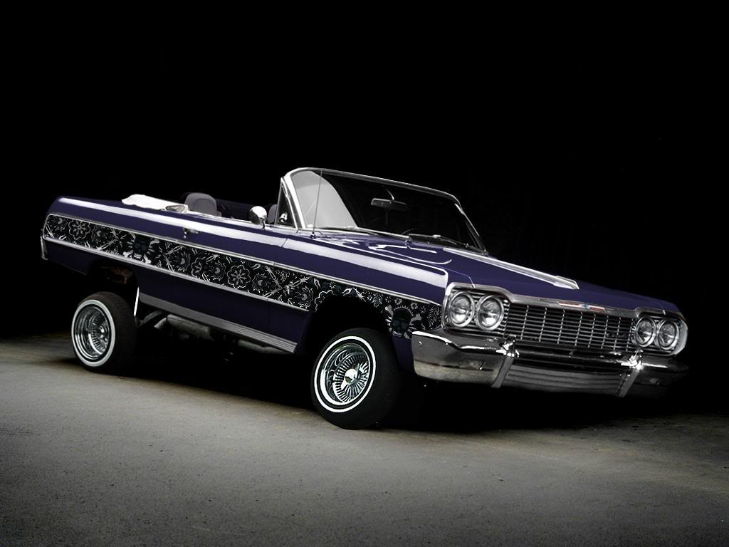 images for blue lowrider cars wallpaper