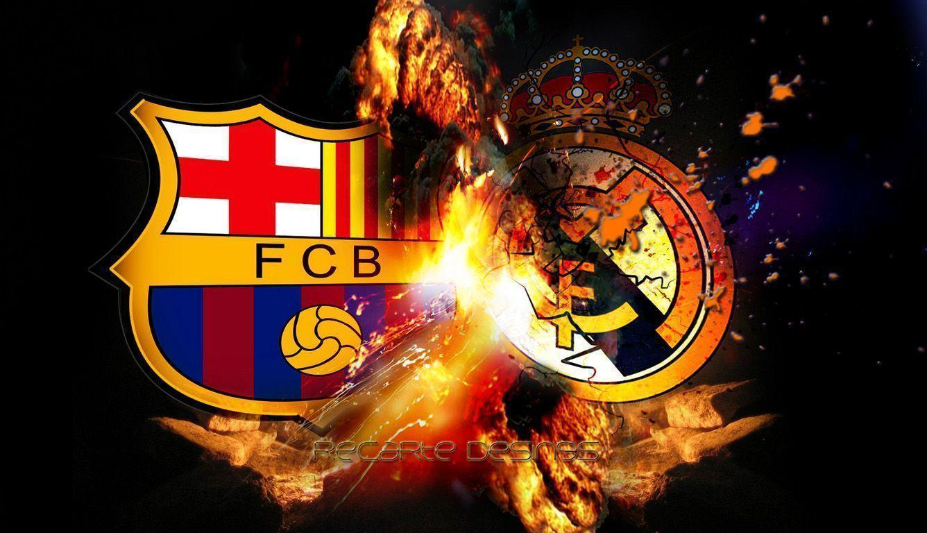 FCB vs REAL MADRID cool wallpapers hd