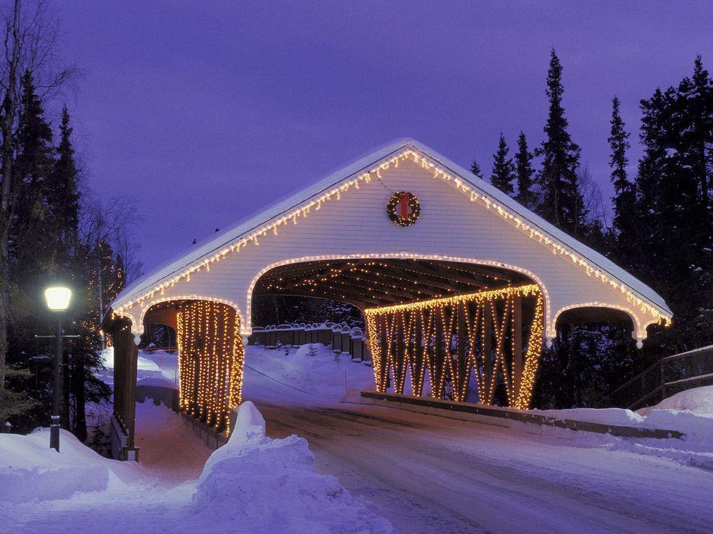 Winter Christmas Desktop Backgrounds - Wallpaper Cave