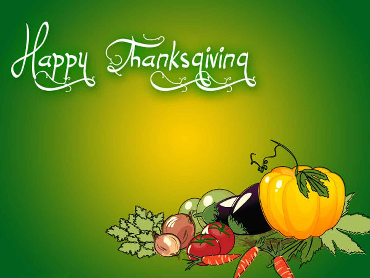 Free Wallpapers Happy Thanksgiving Green Wallpapers 1440x1080PX