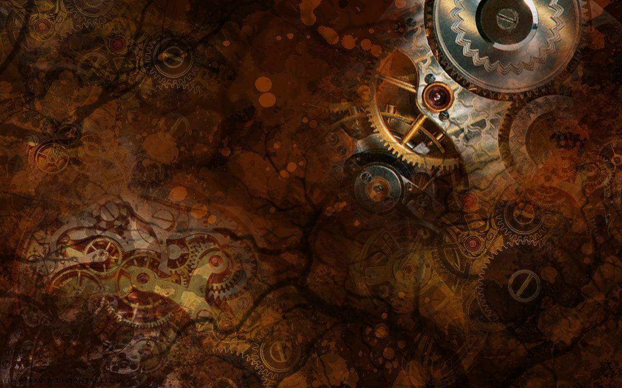 steampunk iphone wallpaper - photo #28
