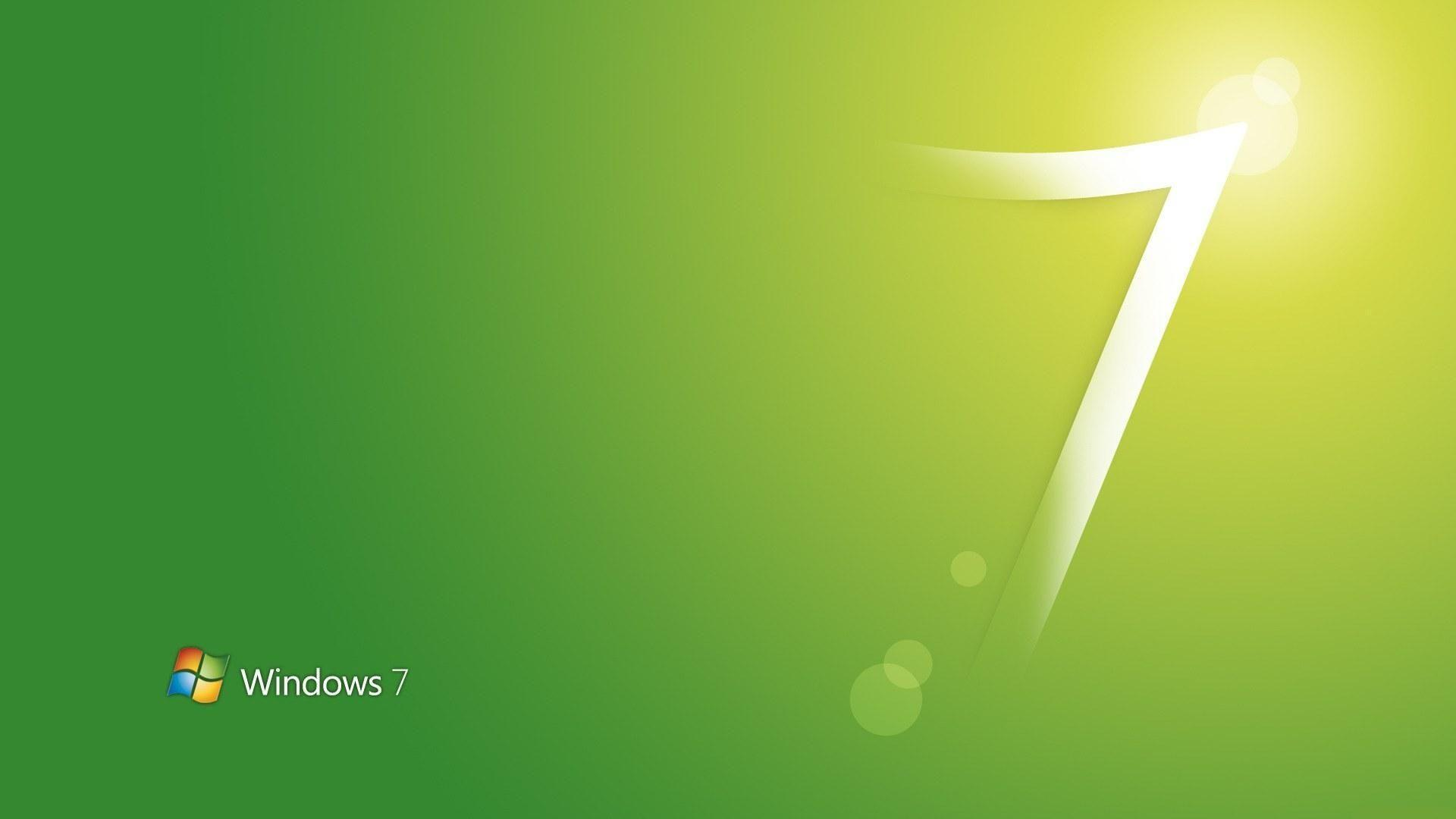 Wallpapers For > Windows 7 Wallpapers Green