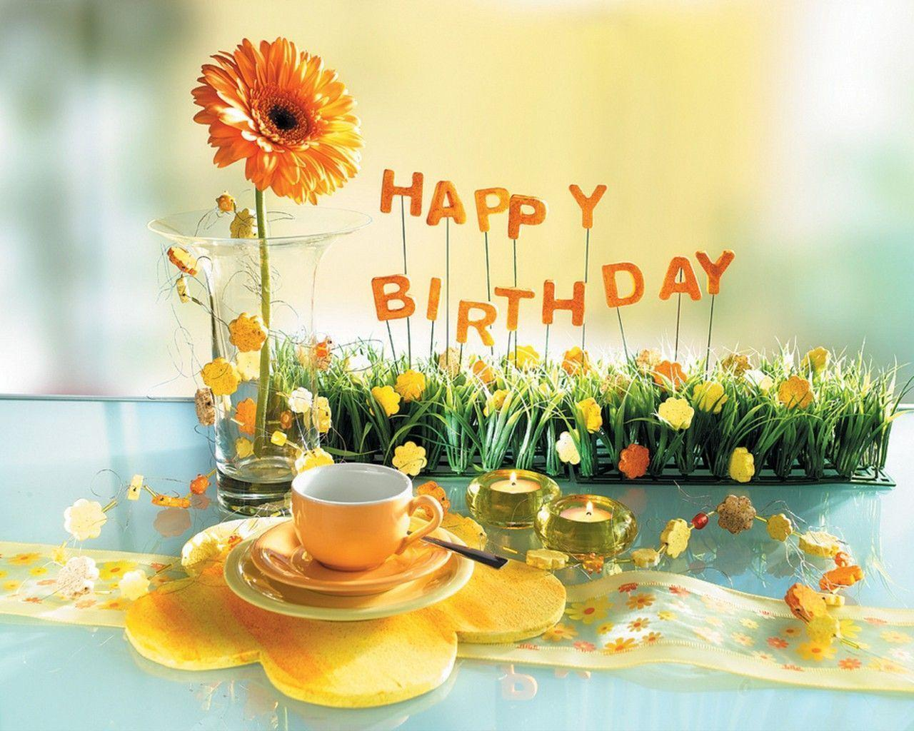 Happy Birthday Wallpapers Images Cards, Wallpapers for Birthday ...