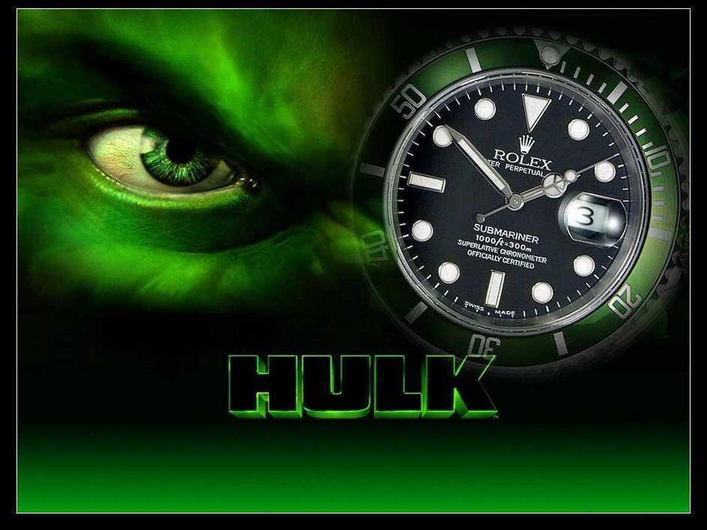 Rolex Hulk Edition Wallpapers