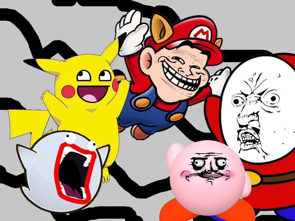 Funny Cartoon Meme Faces : Funny faces backgrounds wallpaper cave
