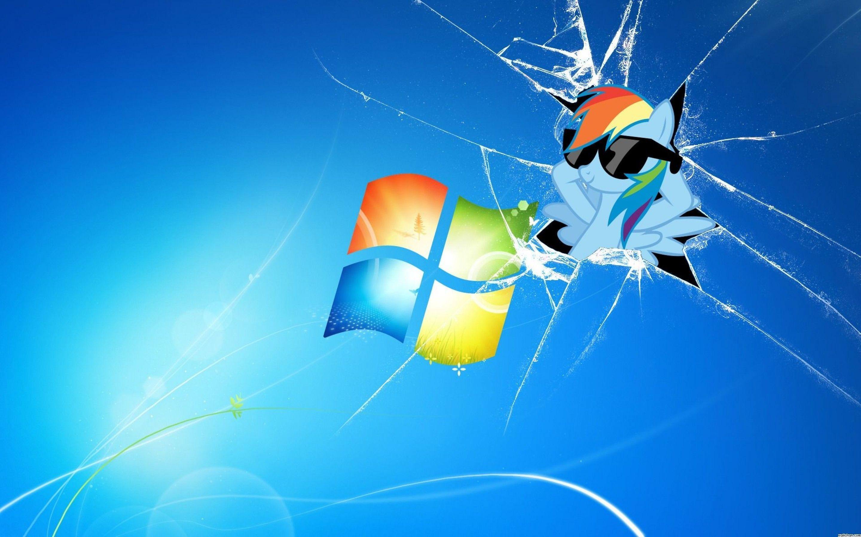 Broken Glass Computer Wallpaper