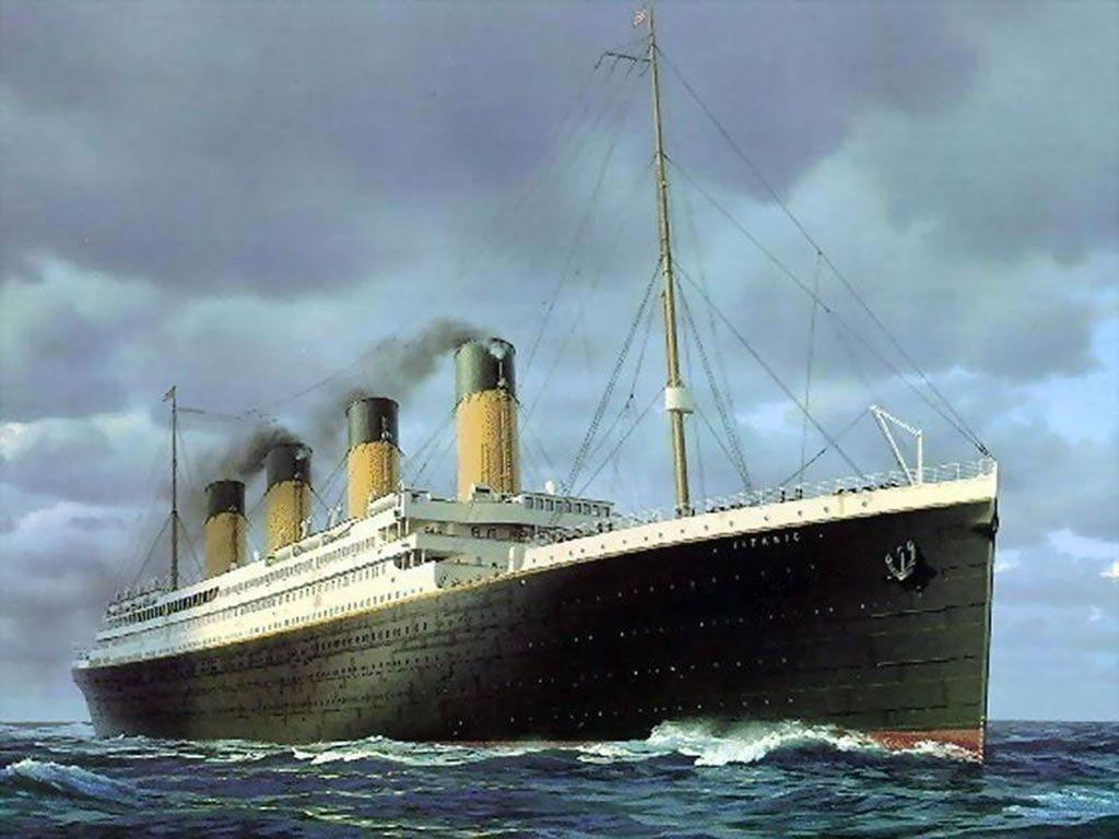 Images For > Titanic Ship Sinking Wallpaper