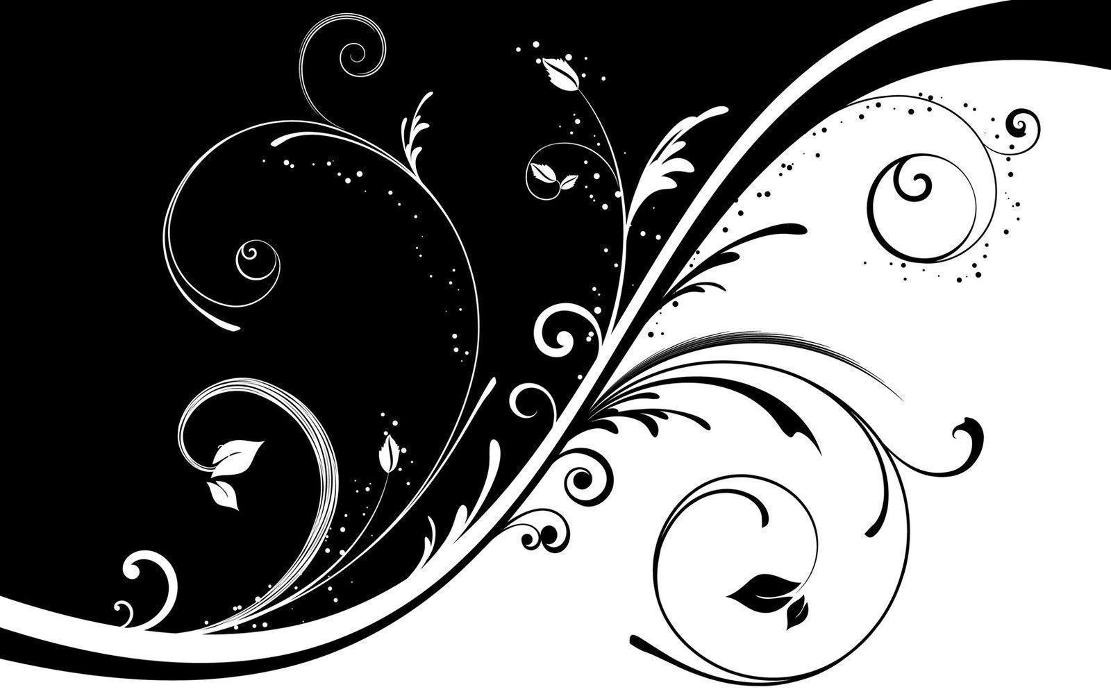 Abstract Art Wallpapers Black And White Backgro Wallpapers