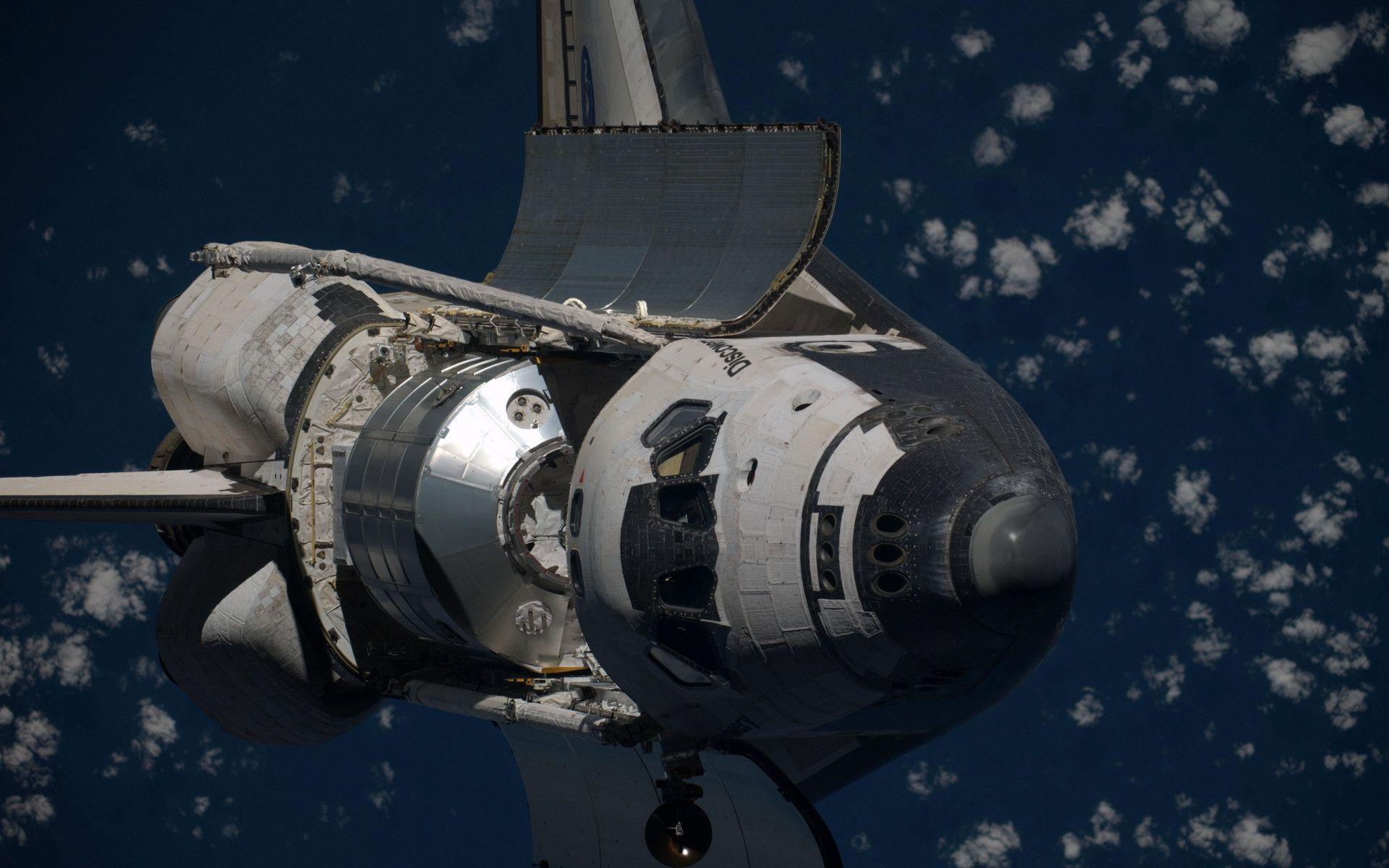 future space shuttle in orbit - photo #48