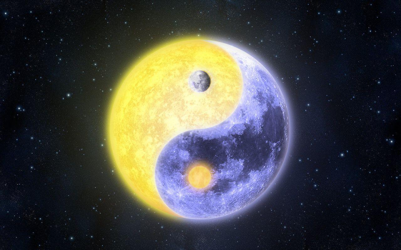 moon and sun - HD1280×800