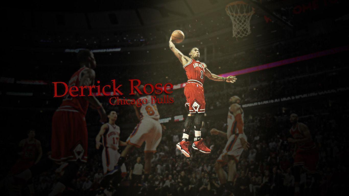 derrick rose wallpaper dunk - photo #12