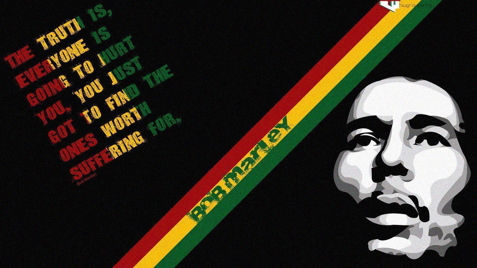 Bob Marley Quotes Wallpapers - Wallpaper Cave