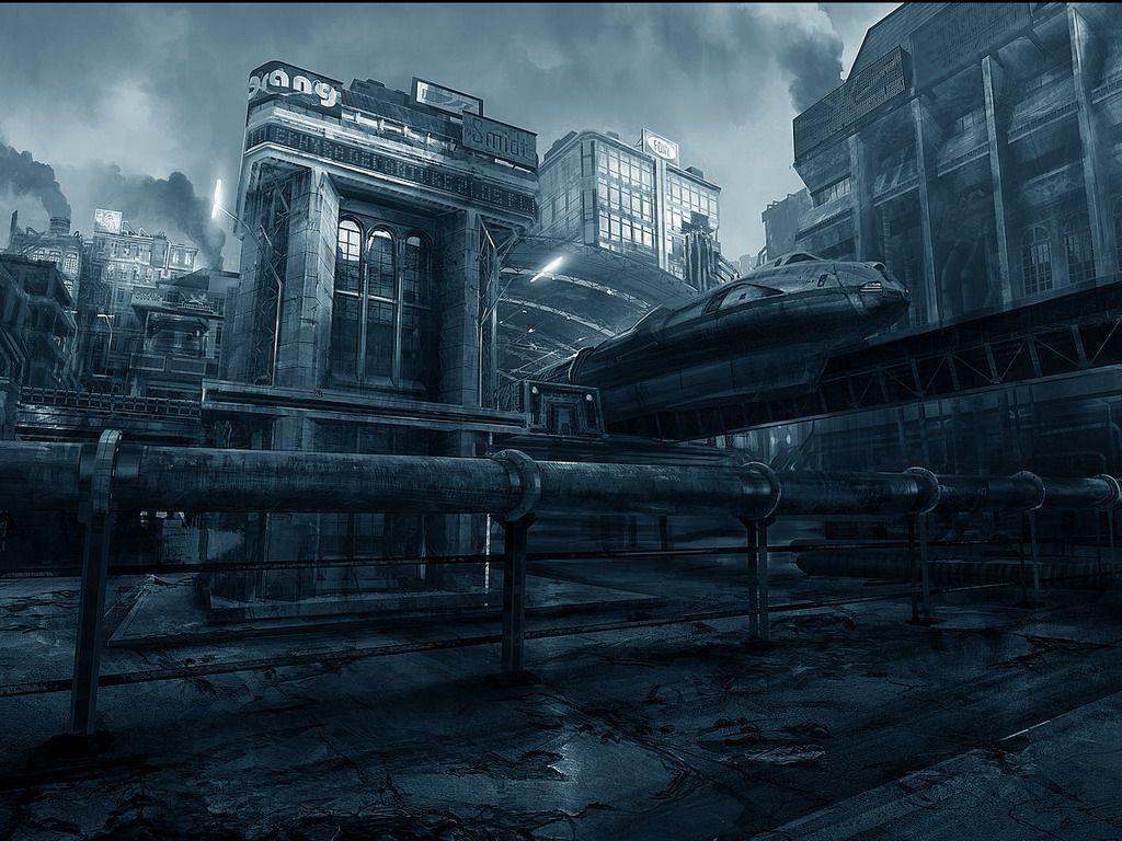 Pix For > Gotham City Street Background