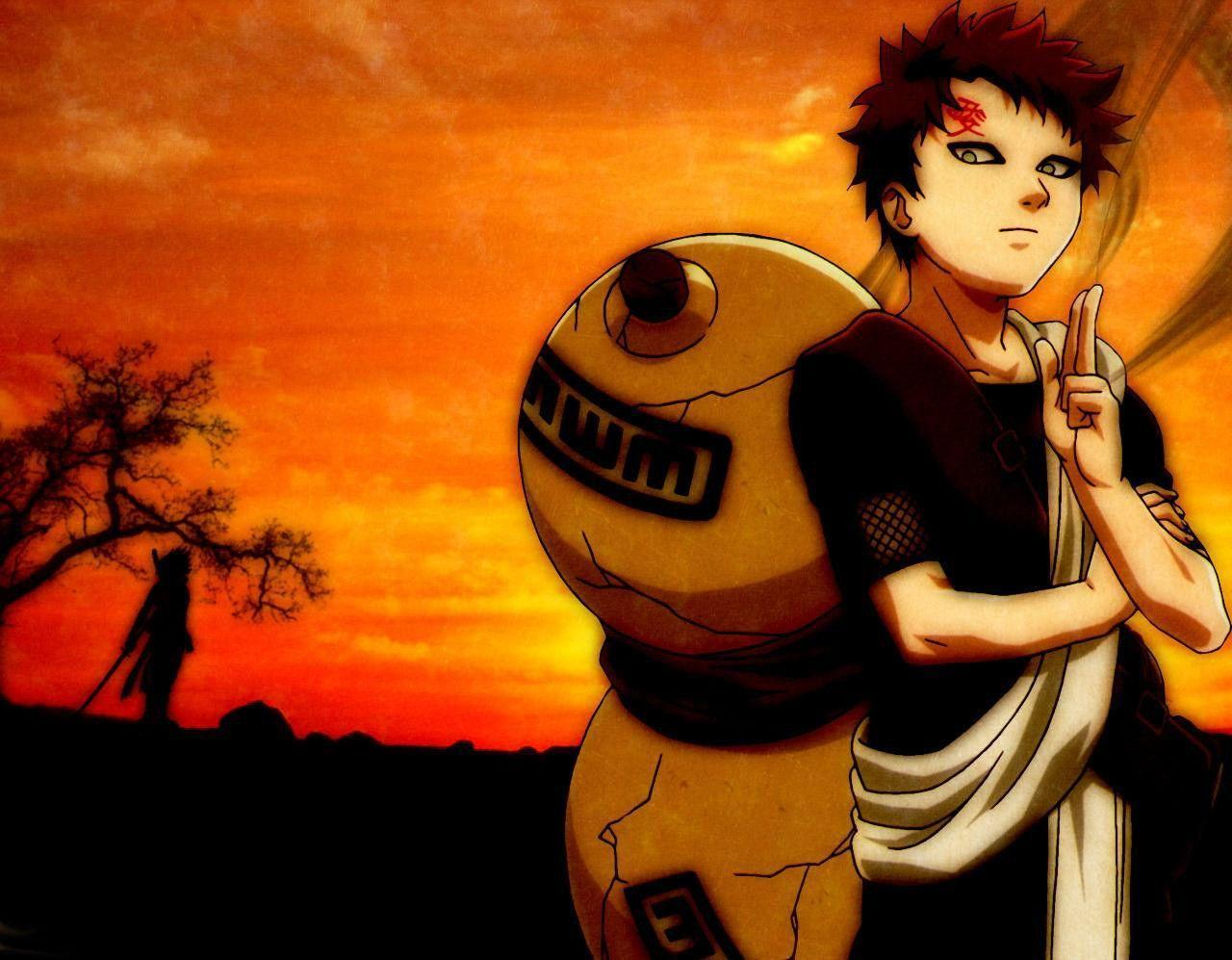 naruto and gaara wallpaper - photo #26