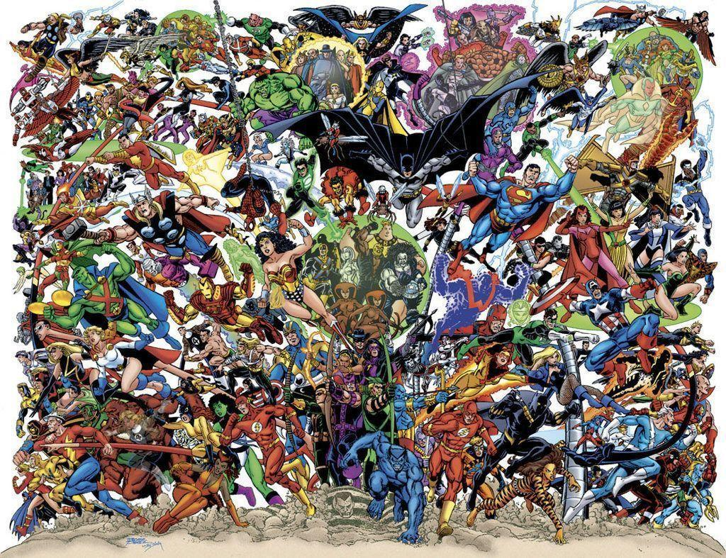 marvel dc wallpaper by - photo #3