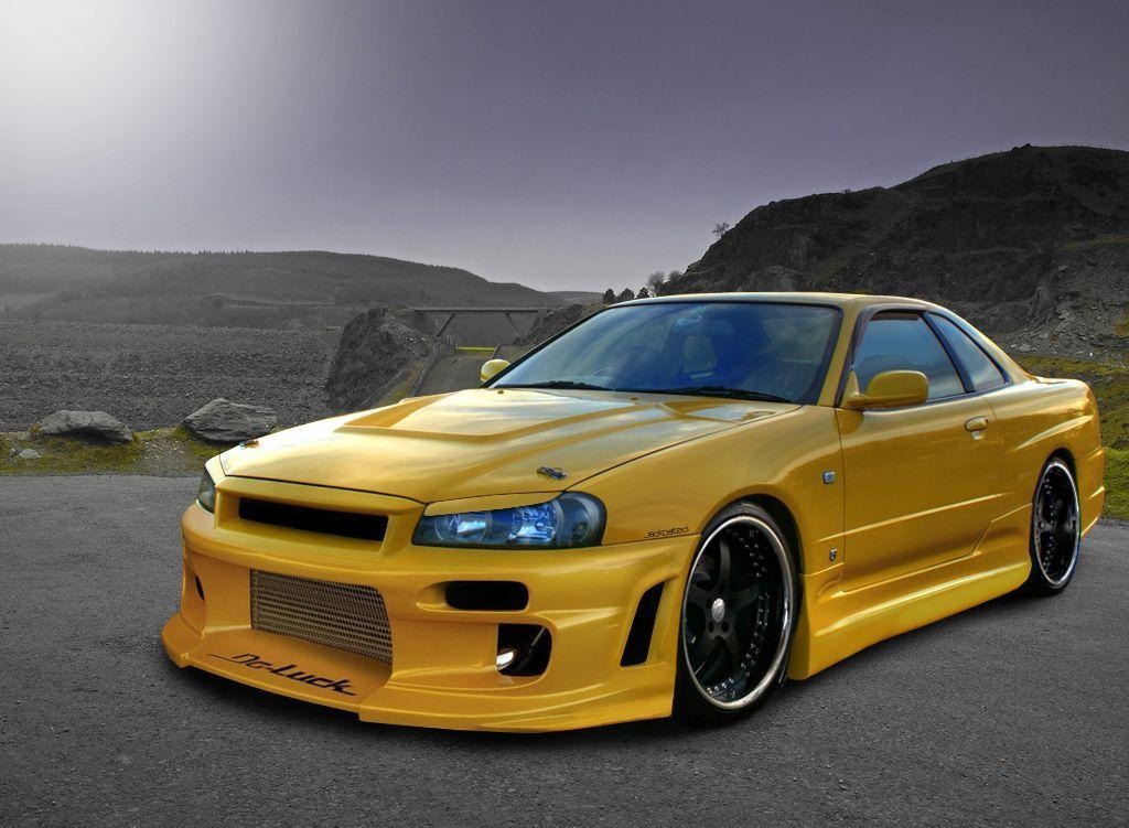 Skyline r34 wallpapers wallpaper cave - Nissan skyline background ...