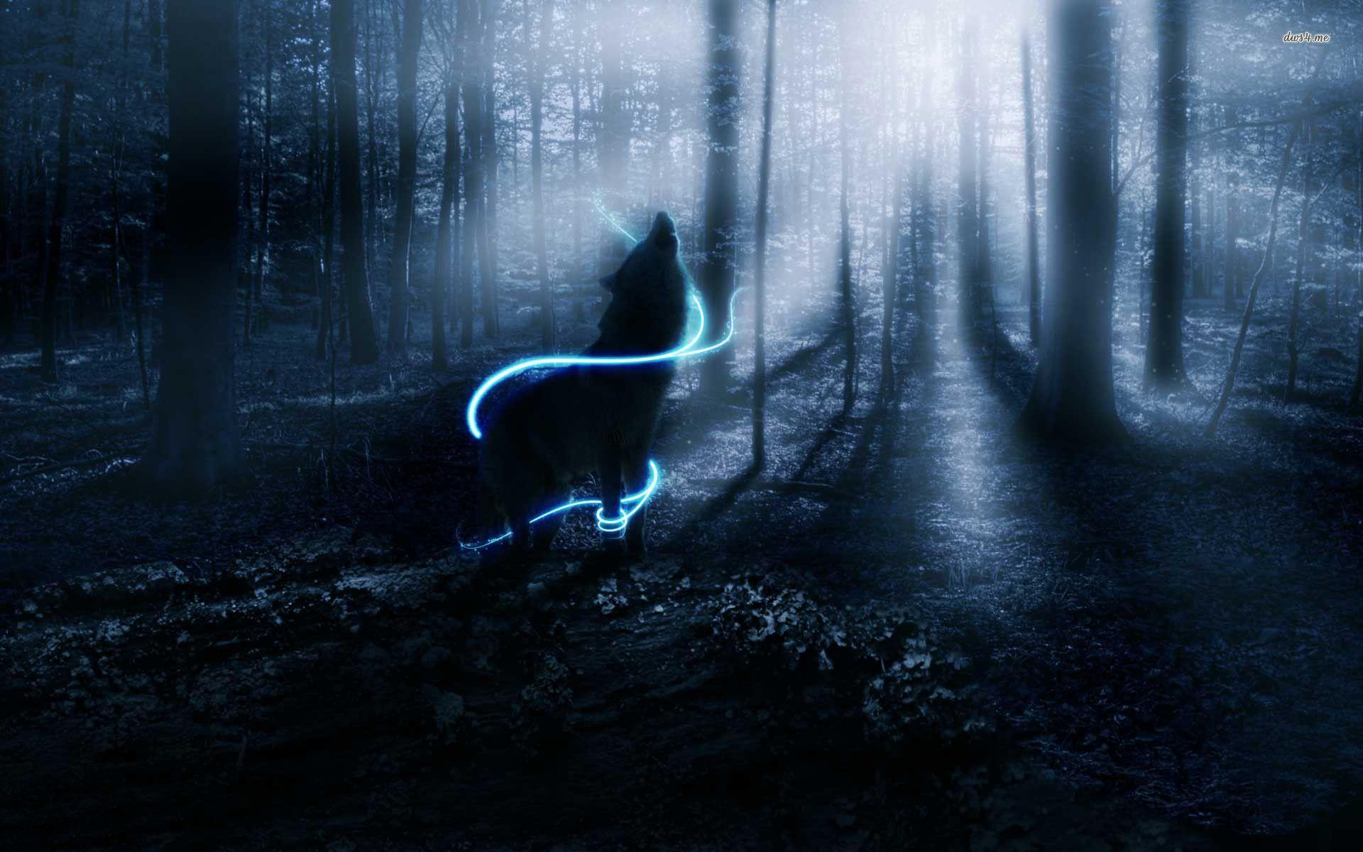 black wolf howling wallpaper - photo #36