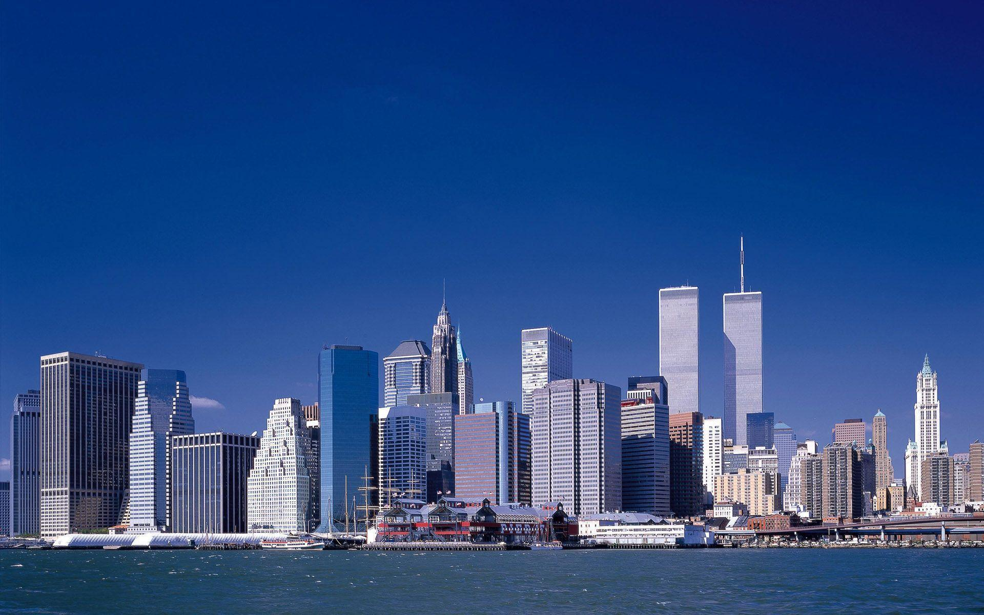 City before September 11 / New York / USA wallpapers and image