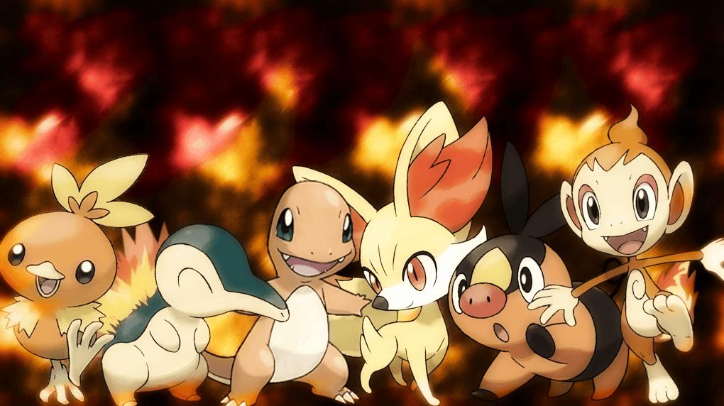 how to change starter pokemon