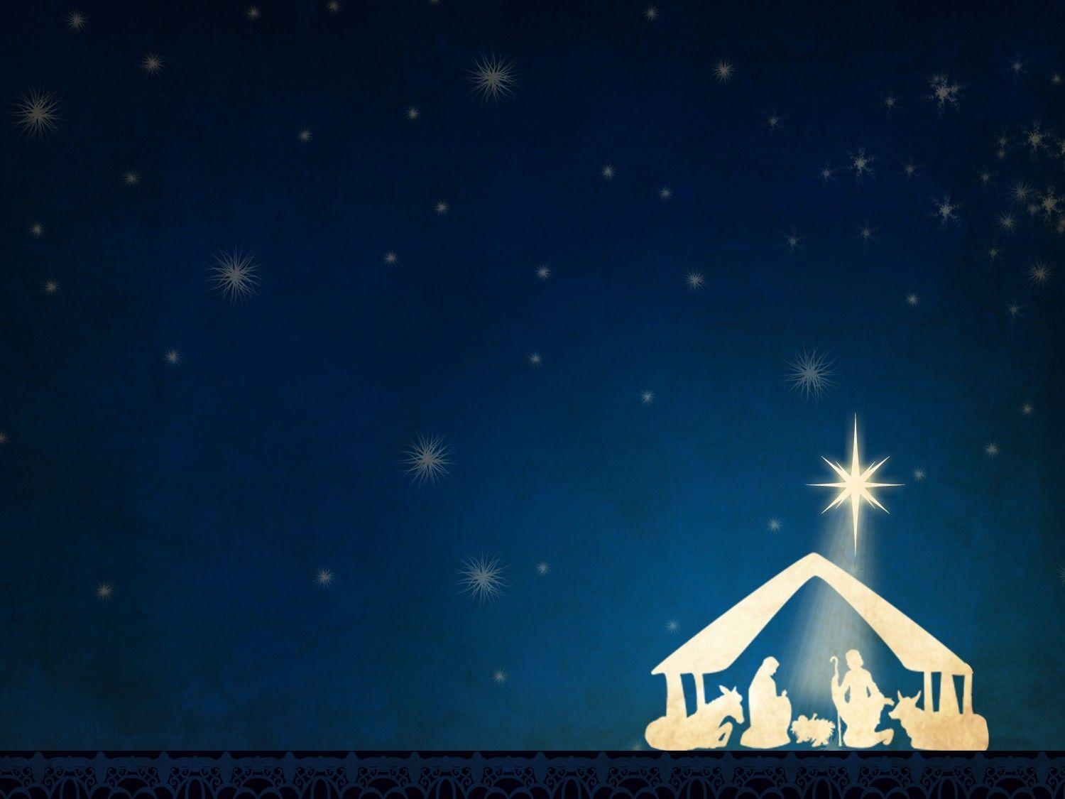 Wallpapers For > Nativity Backgrounds