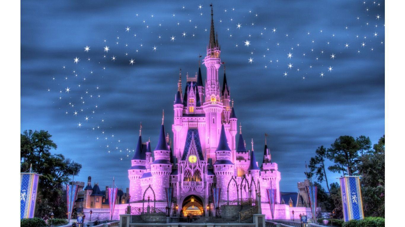 Disney Castle Backgrounds Wallpaper Cave
