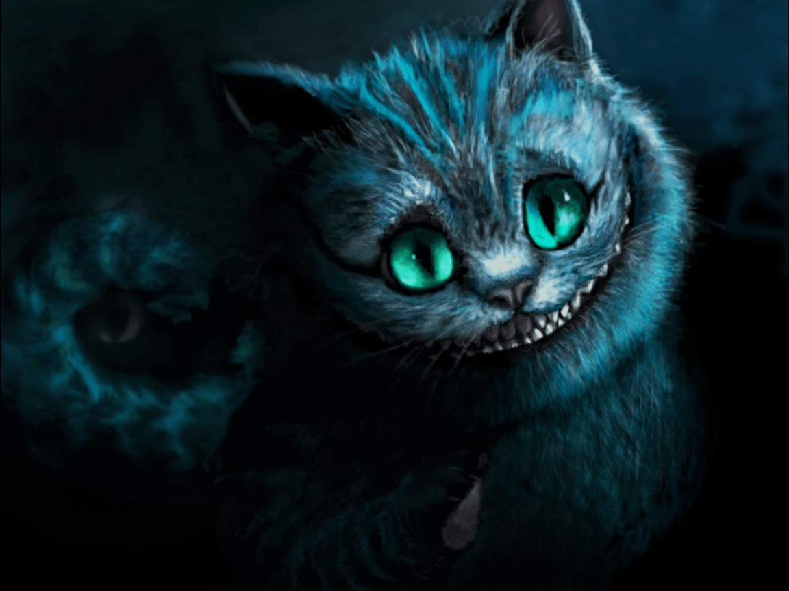 cheshire chat Cheshire cat illusions are images that fade slowly away as you stare at them they result from desensitization in the eye (and brain) when you view them without moving your eyes.