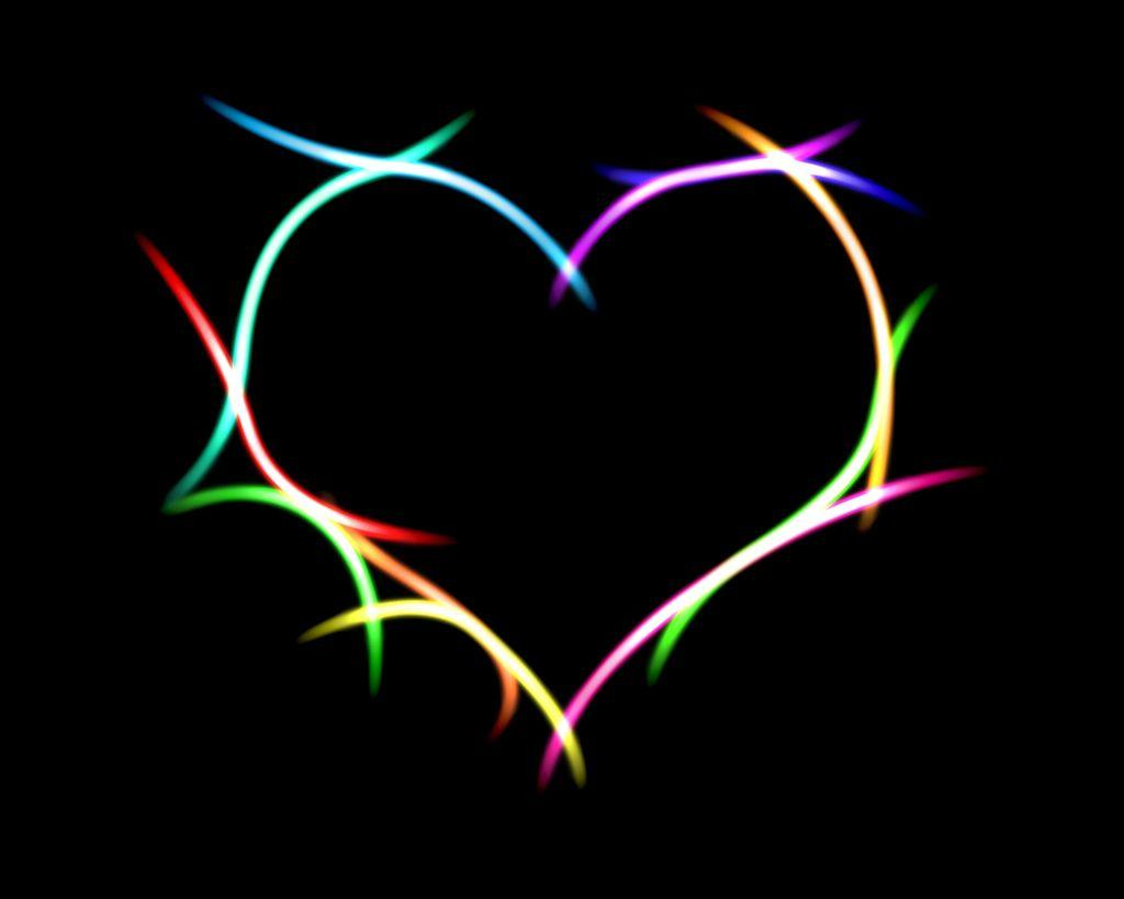 heart black backgrounds wallpaper cave