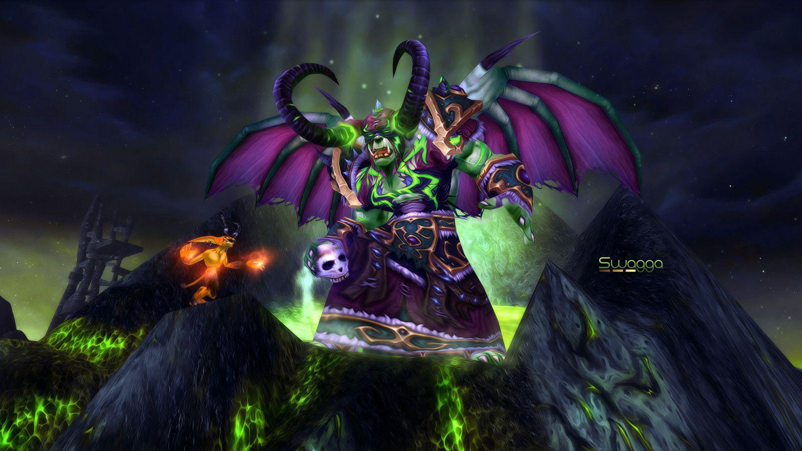 Wow Wallpaper Horde Warlock Images Pictures