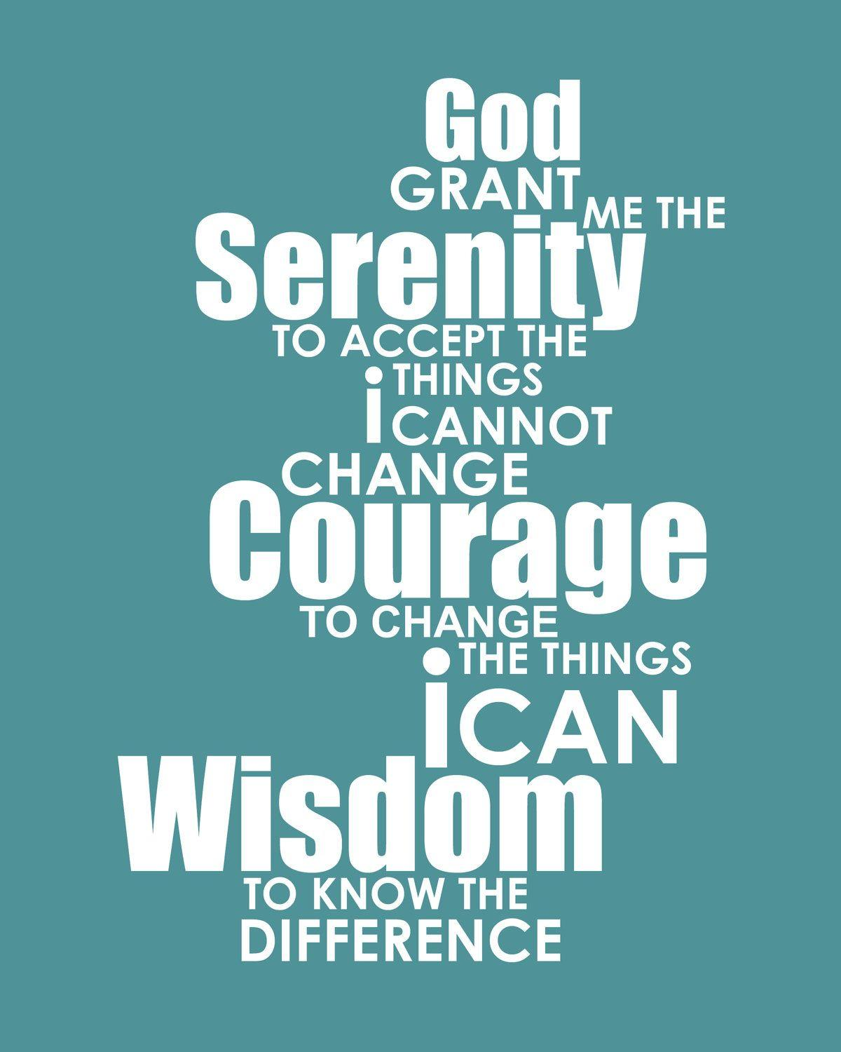 Serenity Prayer Wallpapers Wallpaper Cave