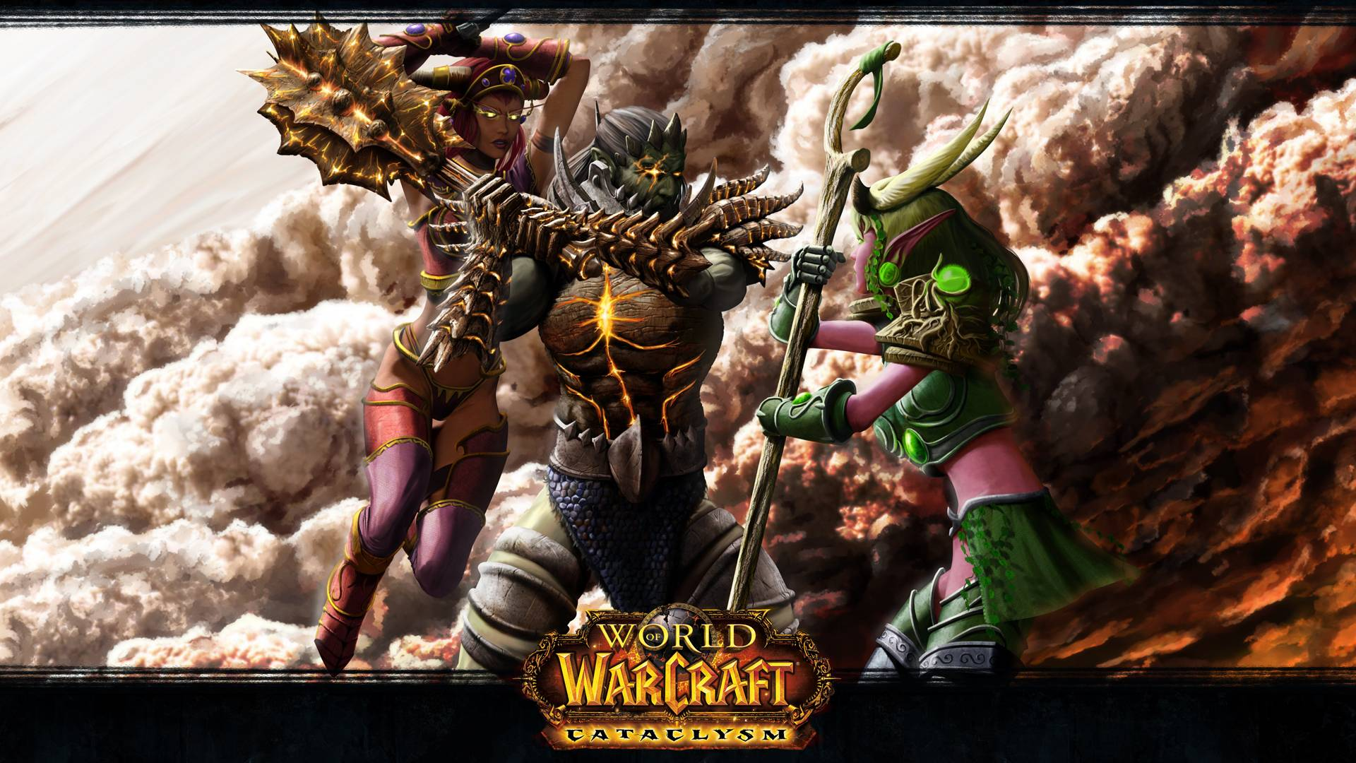 World Of Warcraft Backgrounds 1920x1080: WoW Cataclysm Wallpapers