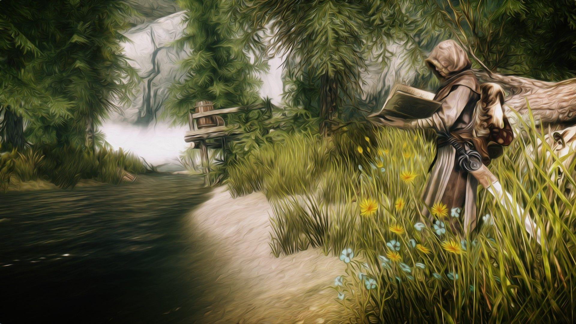 skyrim hd wallpapers 1366x768 - photo #31